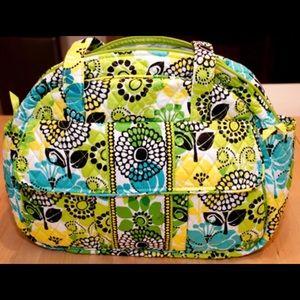 Super Cute Vera Bradley Lime's Up Baby Bag / Purse